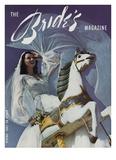 Brides Cover - February, 1942 Regular Giclee Print by Herbert Matter