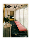 House & Garden Cover - January 1953 Regular Giclee Print by Haanel Cassidy