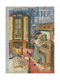 The New Yorker Cover - September 12, 1953 Giclee Print by Mary Petty