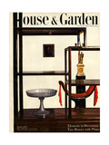 House & Garden Cover - October 1945 Regular Giclee Print by Haanel Cassidy
