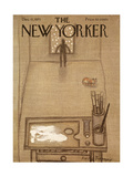 The New Yorker Cover - December 11, 1971 Regular Giclee Print by Andre Francois