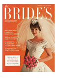 Brides Cover - October 1962 Regular Giclee Print by Peter Oliver