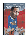 The New Yorker Cover - January 16, 1995 Giclee Print by Mark Ulriksen