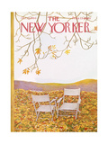 The New Yorker Cover - October 17, 1964 Regular Giclee Print by Ilonka Karasz