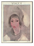Vogue Cover - August 1923 Regular Giclee Print av Marie Laurencin