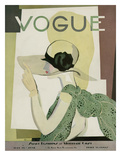 Vogue Cover - May 1928 Regular Giclee Print by Georges Lepape