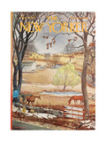 The New Yorker Cover - March 18, 1967 Giclee Print by Albert Hubbell