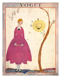 Vogue Cover - May 1917 Giclee Print by Georges Lepape