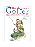 The American Golfer June 13, 1925 Regular Giclee Print by James Montgomery Flagg