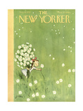 The New Yorker Cover - August 16, 1952 Giclee Print by William Steig