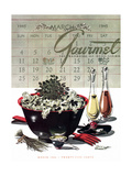 Gourmet Cover - March 1945 Regular Giclee Print by Henry Stahlhut