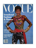 Vogue Cover - April 1990 Regular Giclee Print by Patrick Demarchelier