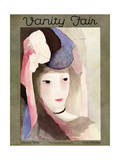 Vanity Fair Cover - February 1928 Regular Giclee Print av Marie Laurencin