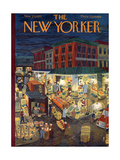 The New Yorker Cover - November 23, 1957 Regular Giclee Print by Ilonka Karasz