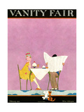 Vanity Fair Cover - February 1921 Reproduction procédé giclée par A. H. Fish