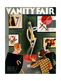 Vanity Fair Cover - March 1930 Regular Giclee Print by Constantin Alajalov