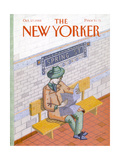 The New Yorker Cover - October 17, 1988 Giclee Print by Kathy Osborn