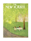 The New Yorker Cover - May 30, 1953 Giclee Print by Edna Eicke