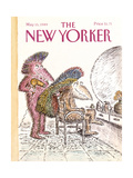 The New Yorker Cover - May 15, 1989 Giclee Print by Edward Koren