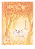 The New Yorker Cover - October 20, 1980 Reproduction procédé giclée par Jean-Jacques Sempé