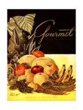 Gourmet Cover - January 1952 Giclee Print by Henry Stahlhut
