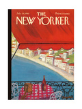 The New Yorker Cover - July 24, 1965 Regular Giclee Print by Beatrice Szanton
