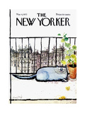 The New Yorker Cover - May 6, 1972 Regular Giclee Print by Ronald Searle
