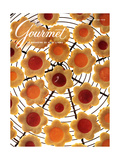 Gourmet Cover - October 1991 Regular Giclee Print by Romulo Yanes