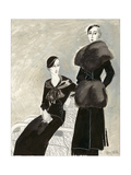 Vogue - October 1932 Giclee Print by R.S. Grafstrom