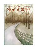 The New Yorker Cover - March 24, 1975 Giclee Print by Charles E. Martin
