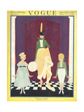 Vogue Cover - November 1916 Regular Giclee Print by Irma Campbell
