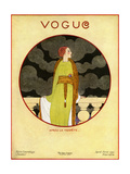Vogue Cover - April 1919 Regular Giclee Print by Georges Lepape