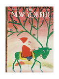 The New Yorker Cover - December 25, 1978 Regular Giclee Print by Andre Francois
