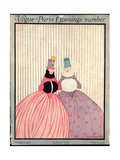 Vogue Cover - October 1915 Regular Giclee Print by Irma Campbell