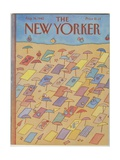 The New Yorker Cover - August 16, 1982 Regular Giclee Print by Lonni Sue Johnson