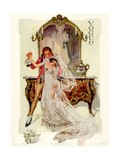 Vogue Cover - May 1912 Regular Giclee Print by Frank X. Leyendecker