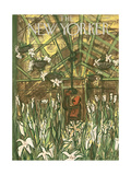 The New Yorker Cover - March 24, 1951 Regular Giclee Print by Ludwig Bemelmans