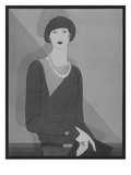 Vogue - January 1929 Regular Giclee Print by Douglas Pollard