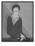 Vogue - January 1929 Giclee Print by Douglas Pollard