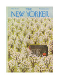 The New Yorker Cover - May 19, 1973 Regular Giclee Print by Ilonka Karasz