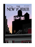 The New Yorker Cover - September 21, 2009 Regular Giclee Print by Jorge Colombo