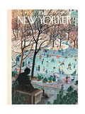 The New Yorker Cover - February 4, 1961 Premium Giclee Print by Ilonka Karasz