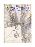 The New Yorker Cover - December 4, 1978 Reproduction procédé giclée par Arthur Getz