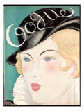 Vogue Cover - October 1931 Regular Giclee Print by Georges Lepape
