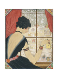 Vogue - December 1920 Giclee Print by Helen Dryden