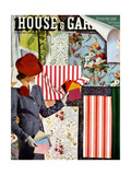 House & Garden Cover - April 1940 Regular Giclee Print by Joseph B. Platt