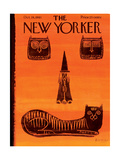The New Yorker Cover - October 28, 1961 Premium Giclee Print by Anatol Kovarsky