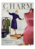 Charm Cover - February 1946 Giclee Print by Jon Abbot