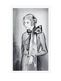 Vogue - March 1930 Regular Giclee Print by René Bouét-Willaumez