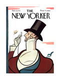 The New Yorker Cover - February 23, 1976 Regular Giclee Print by Rea Irvin